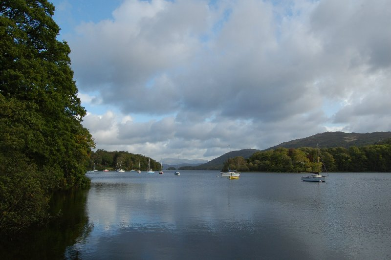 Moorings on Coniston Water